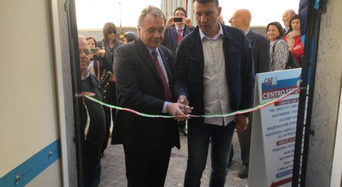 Tarquinia inaugura un nuovo centro servizi della Uil