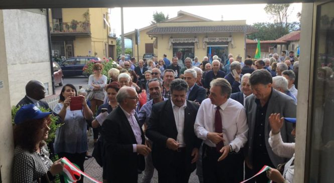 Inaugurato a Rieti il primo centro multiservizi d'Italia