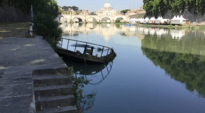 Nuovo look per il fiume Tevere