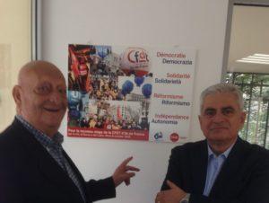 Francesco Fatiga e Felice Alfonsi