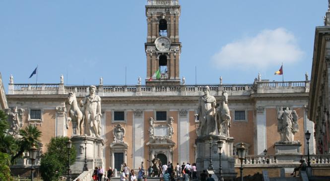 Quanto eri bella Roma. Sindacati in piazza
