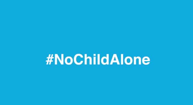 Campagna social di solidarietà. #NessunBambinoSolo