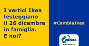 Grafica campagna #CambiaIkea