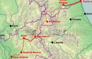 Dal Tirreno all'Adriatico foto tratta dal web