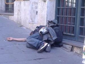 I poveri a Roma