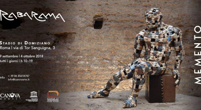 Memento, la mostra di Rabarama allo Stadio Domiziano