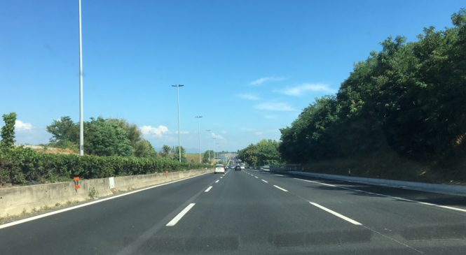 Il tratto urbano della A24: la strada italiana con più incidenti