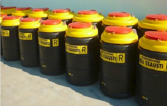 Oli lubrificanti usati. L'Italia al top per il riciclo