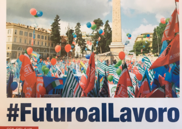 #FuturoalLavoro. Sindacati in piazza perchè un'altra manovra è possibile