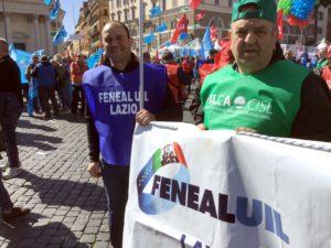 sciopero generale edili a roma